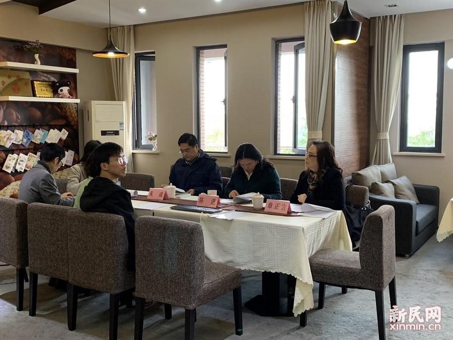 上外尚阳学校:科研引领 项目攻坚 专业成长