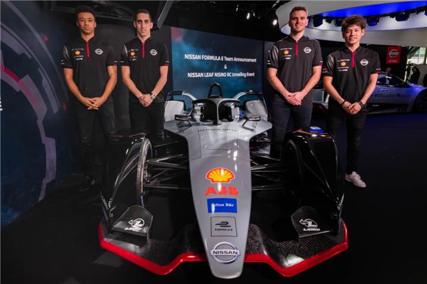 日产车队公布世界电动方程式车手阵容