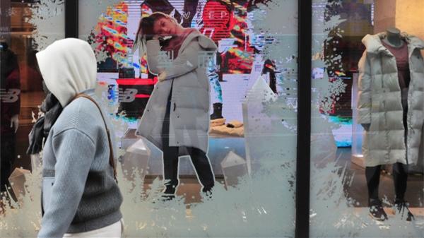 """""""大雪""""节气偶遇初雪!上海今阴有时有小雨,夜里起阴有小雨或小雨夹雪"""