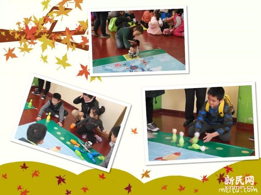 """普陀区第36届""""浪花杯""""中小学生模型及机器人竞赛在金沙江路小学展开"""