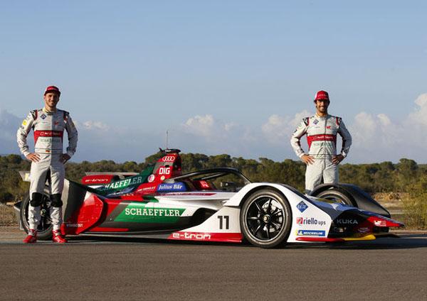 卫冕冠军奥迪出征Formula E新赛季