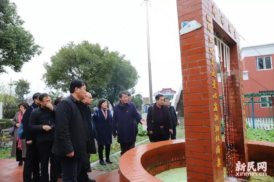 河北省衡水地区教育同仁到廊下中学交流访问