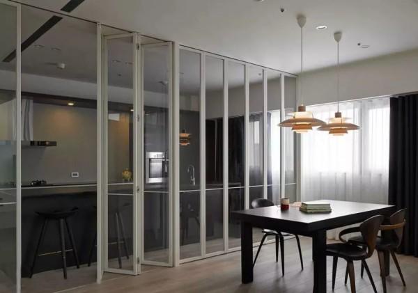 看了实用省空间的折叠门,你还准备装推拉门和平开门吗?