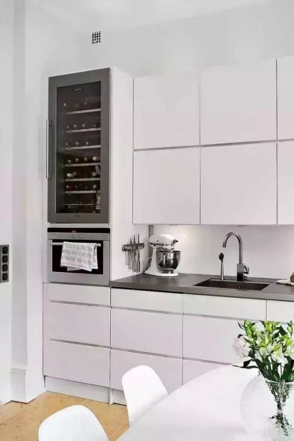 看了这28款厨房橱柜设计,才知道原来我家厨房已经过时了!