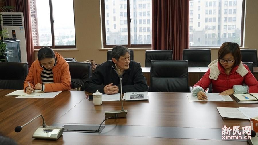 上海市特级教师陈友勤到金卫中学作讲座