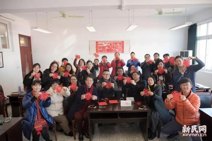 廊下中学:弘扬传统文化 深化文明创建