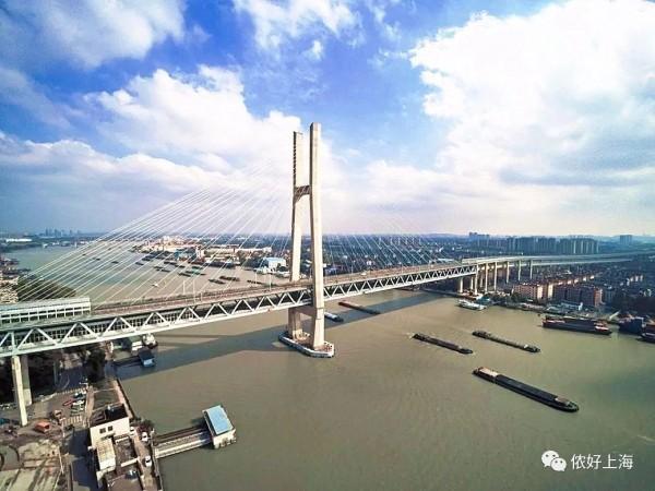 """特大好消息!上海首条地铁""""江景线""""终于通车!"""