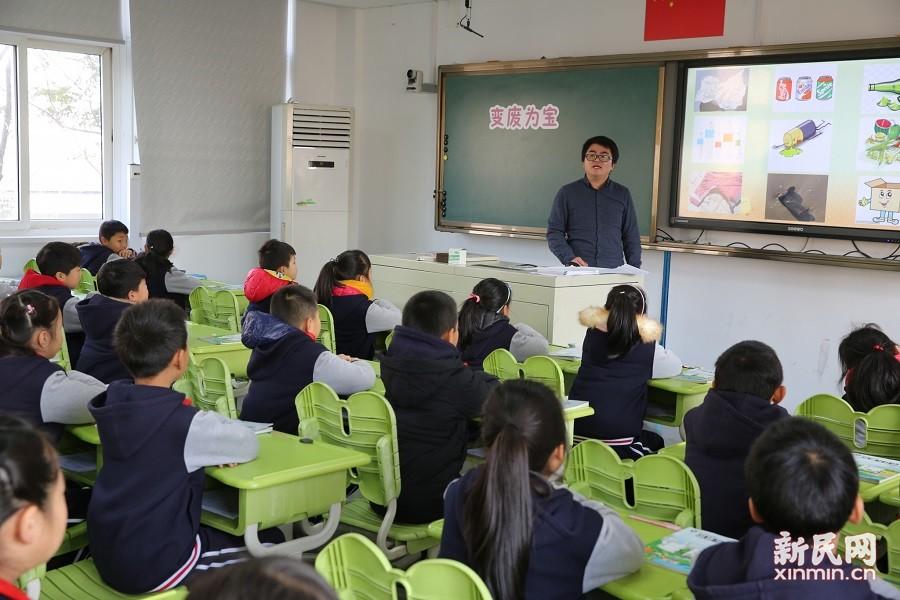 朱泾小学:新苗初绽放 团队共成长