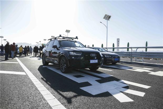 奥迪中国成为首个在国内实际高速公路场景进行L4自动驾驶及网联汽车相关演示的车企