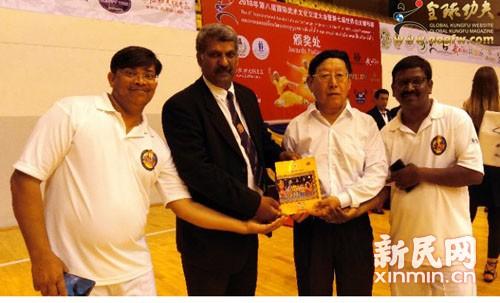 泰国第七届世界功夫锦标赛举行 傅敏伟受邀任裁委会主任