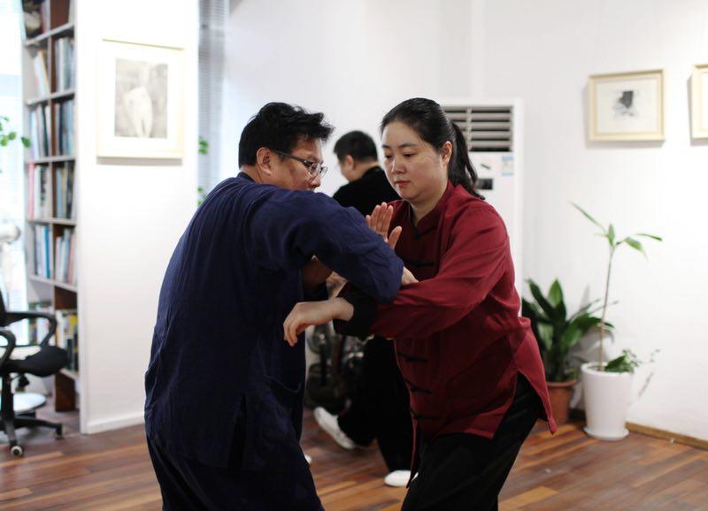 陈有华七段:推手练到摔打擒拿才是高级功夫