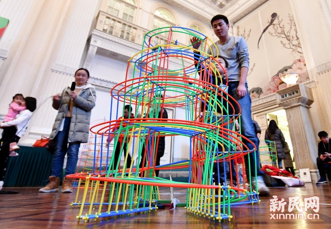 利用吸管设计创意结构 培养结构工程师小达人