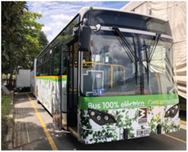 比亚迪打造哥伦比亚最大纯电动大巴车队