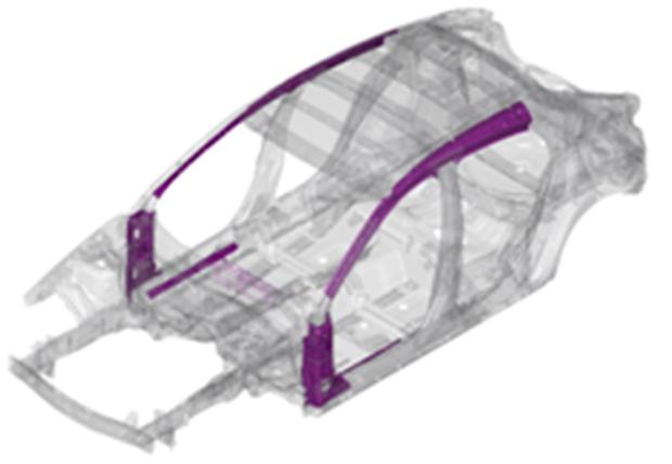马自达全球首度开发出采用1310MPa级高张力钢板材料冷成型部件