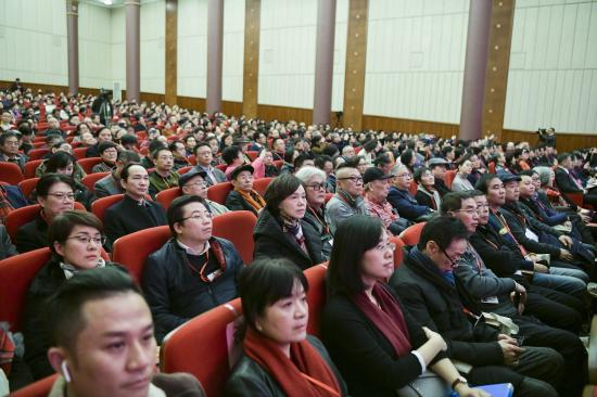 上海市文学艺术界联合会第八次代表大会开幕侧记:文艺工作者的笑,暖了冬天
