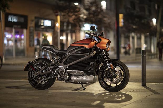 哈雷戴维森公布首款纯电动摩托车