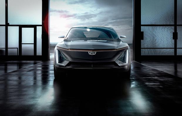 凯迪拉克首秀未来纯电动车