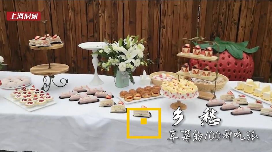 上海时刻·乡愁|2019金山草莓节开幕 来看草莓的100种吃法
