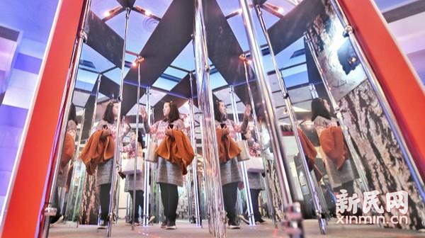 光影魔术展在上海科技馆开幕