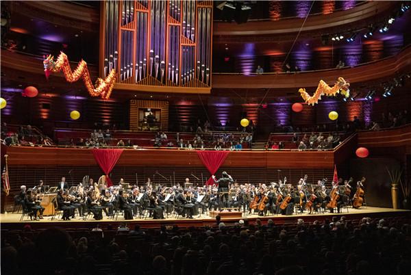 中国声音更加响亮 交响曲《京剧幻想》惊艳美国观众