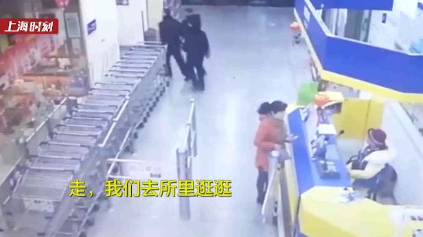 视频     民警陪妻子逛超市 与逃犯对上了眼……