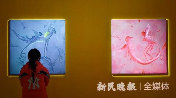 """""""图像的创世纪""""孙良作品展在沪举行"""