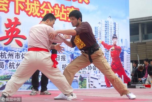 孙瑜:不妨制定竞赛规则 恢复传统太极拳技击性