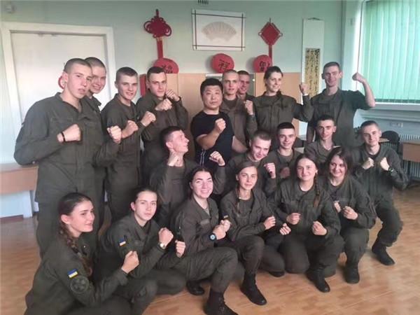 韩长良的乌克兰传奇:太极功夫巧胜乌克兰军警搏击高手