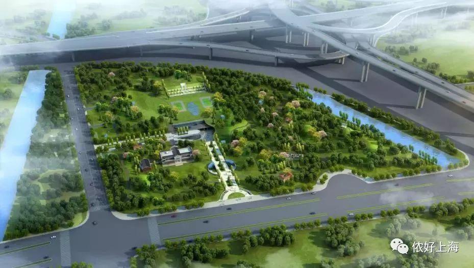 游泳池+体育中心+绿地!上海人今年又多了一个休闲好去处
