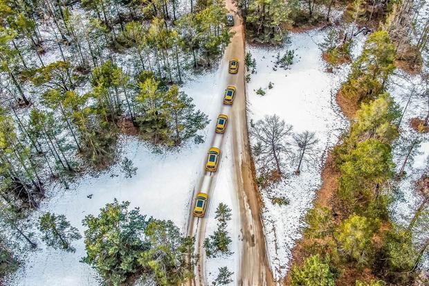 载入史册! 一汽-大众T家族横穿贝加尔湖创造世界纪录