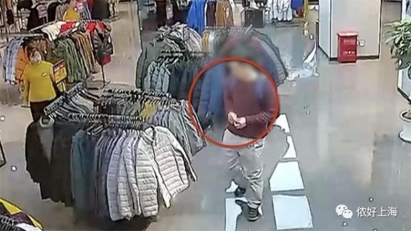 在上海月薪2万的工程师,商场里偷3000块衣服被抓!