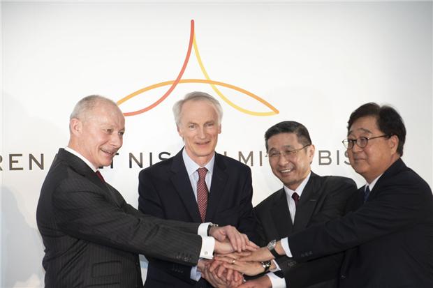 雷诺、日产与三菱达成创设全新联盟运营委员会意向