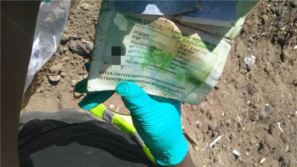 埃塞坠机中方搜寻人员发现3件带中文遗物:徒手翻找多遍