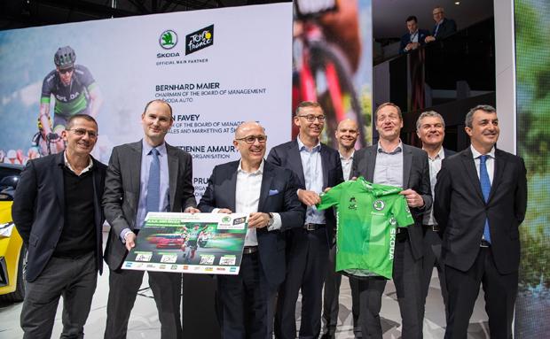 斯柯达赞助环法自行车赛合作延长至2023年