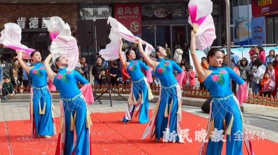 沪郊山阳镇市民大舞台展现新景象