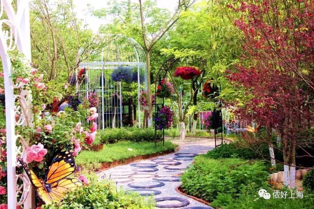 上海这个不为人知的静谧花园,自带7大主题庭院!