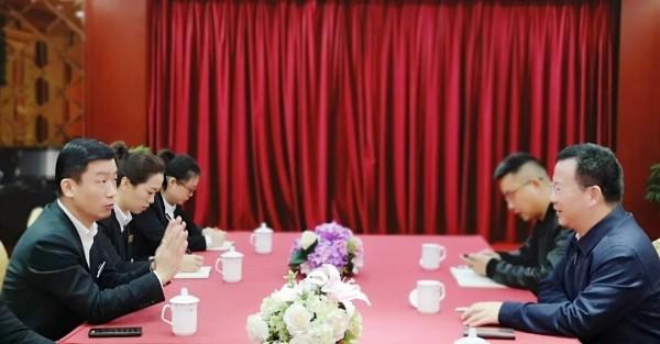 上海市工商联(总商会)领导一行走访云兰装潢调研指导工作