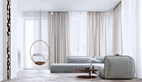 别让窗帘毁了你的家,这样搭配简洁大气不过时!