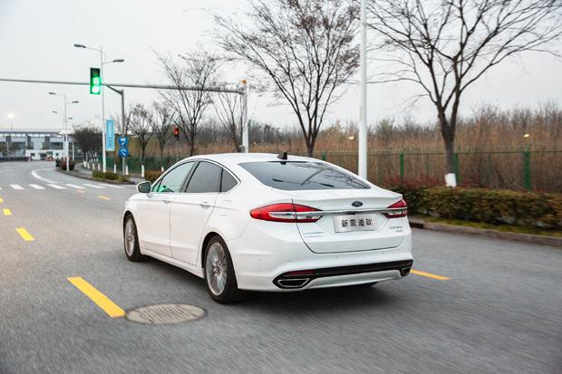 福特首款C-V2X车型2021年在华量产