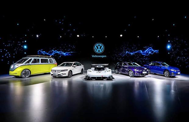 大众汽车品牌三款国产纯电车型亮相 今年上市