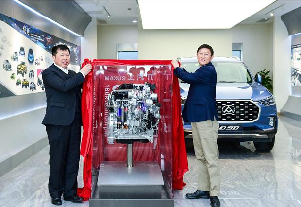"""""""上汽π""""高性能柴油发动机重磅推出"""