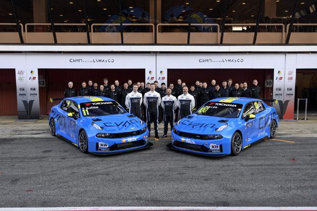 领克03 TCR赛车将开启2019 FIA WTCR征程
