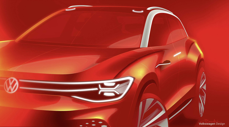大众ID. ROOMZZ概念车将全球首秀:未来全尺寸电动SUV