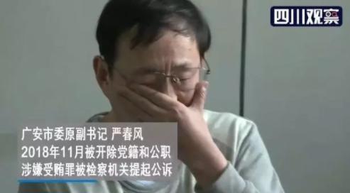 """上了反腐热词、贪了近600万元的""""严书记""""今天当庭认罪了!"""