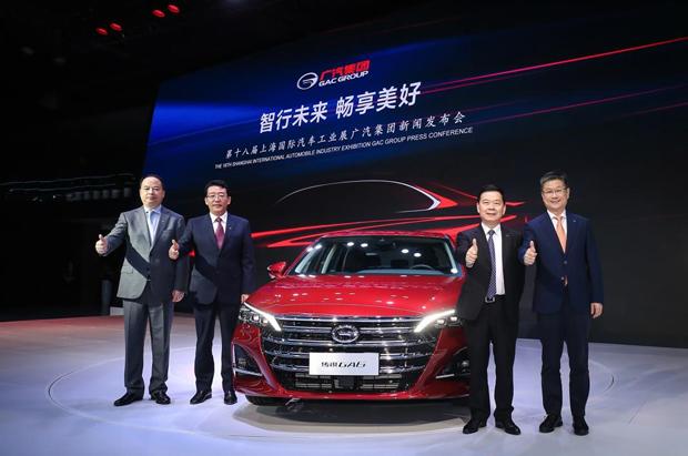 全新传祺GA6重磅亮相 重塑中国中高级轿车市场格局