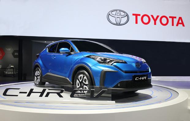 EV量产车型首秀 丰田新产品阵营齐聚上海车展