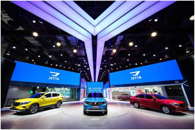 JETTA品牌携年轻化产品家族首秀国际车展