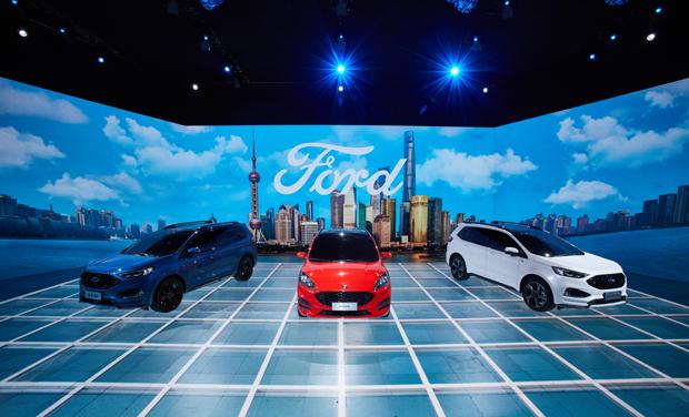 四款中国首发新车 福特汽车强势出击2019上海国际车展