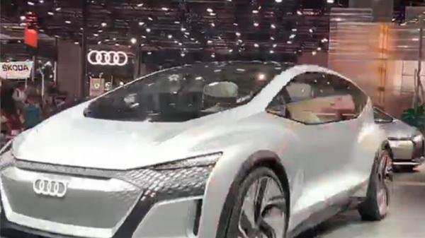 视频 | 夸张、前卫、天马行空 聚焦本届车展上的概念车