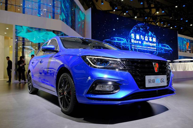 上汽荣威全新智联网SUV荣威MAX首次亮相  首款5G概念车同台展出